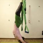 йога в гамаках